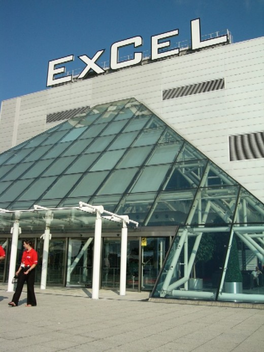 The ExCel Conference Centre where Oracle OpenWorld London was held