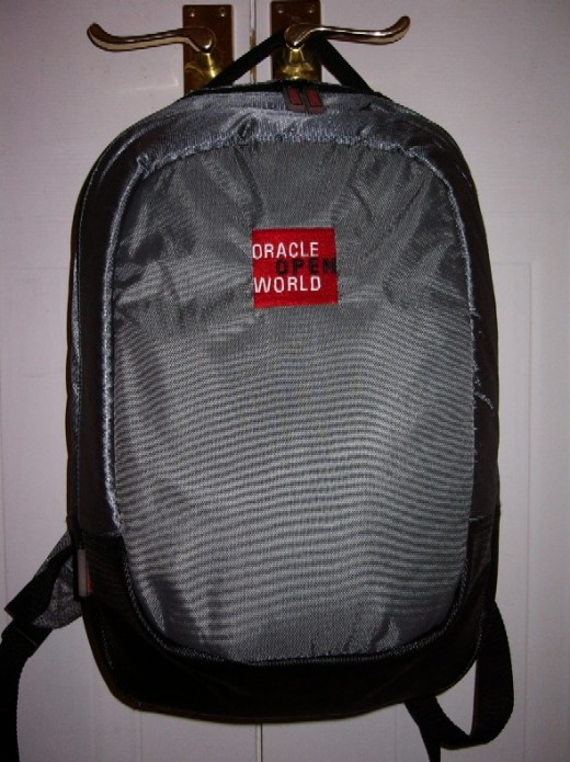 The Conference Bag for this year's London Oracle OpenWorld Conference
