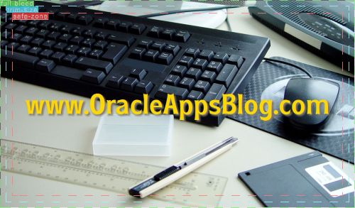 Front of OracleAppsBlog.com card